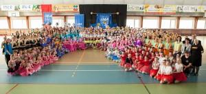 Mistrzostwa Tańca Mażoretkowego Polski Środkowej w Poddębicach
