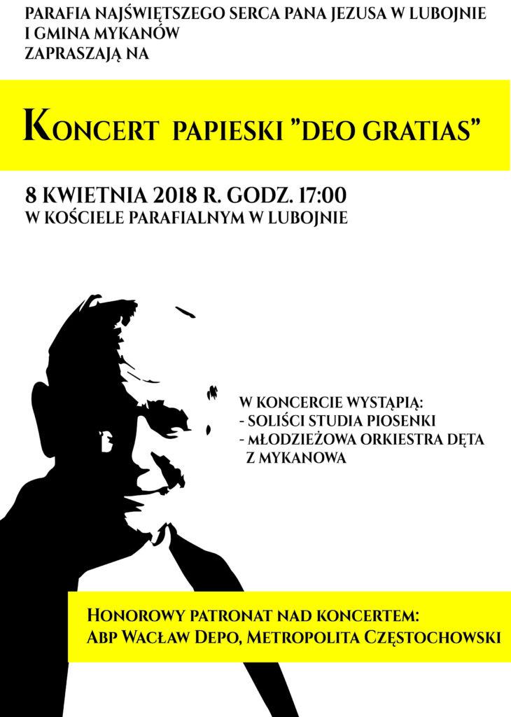 Koncert Papieski w Lubojnie