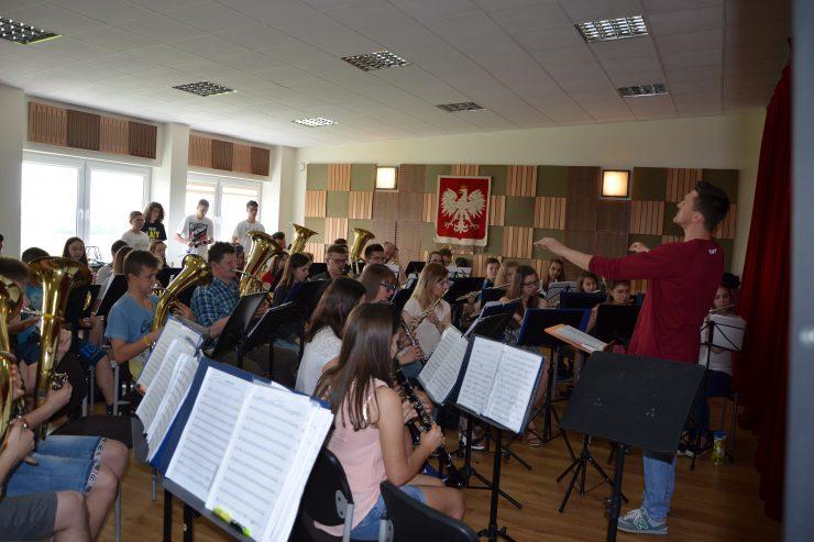 Warsztaty muzyczne z Mariuszem Dziubkiem