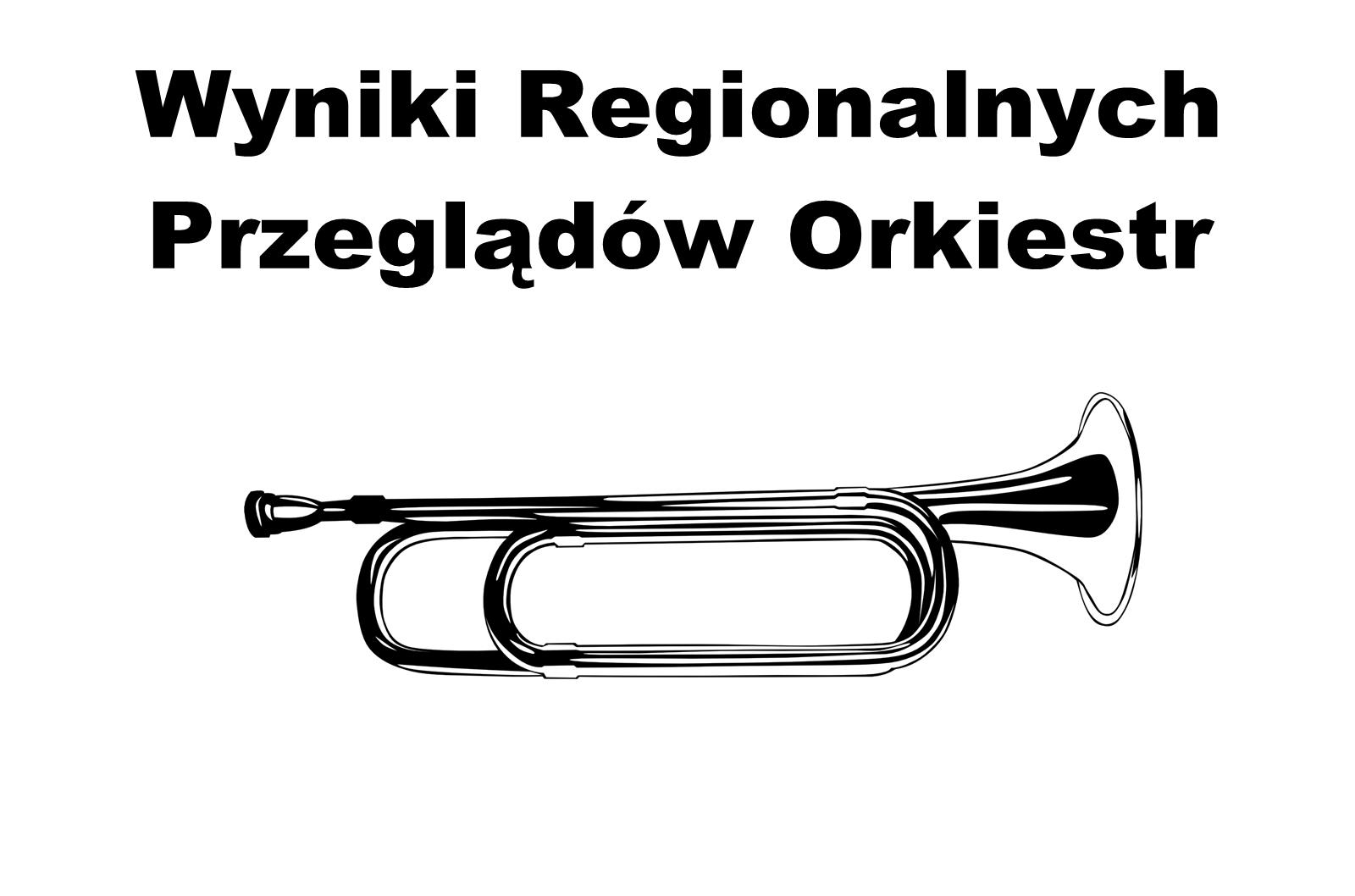 Wyniki Regionalnych Przeglądów Orkiestr