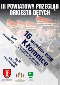 III Powiatowy Przegląd Orkiestr w Kłomnicach