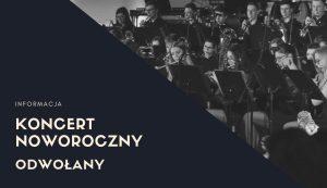 Koncert Noworoczny odwołany z powodu żałoby narodowej