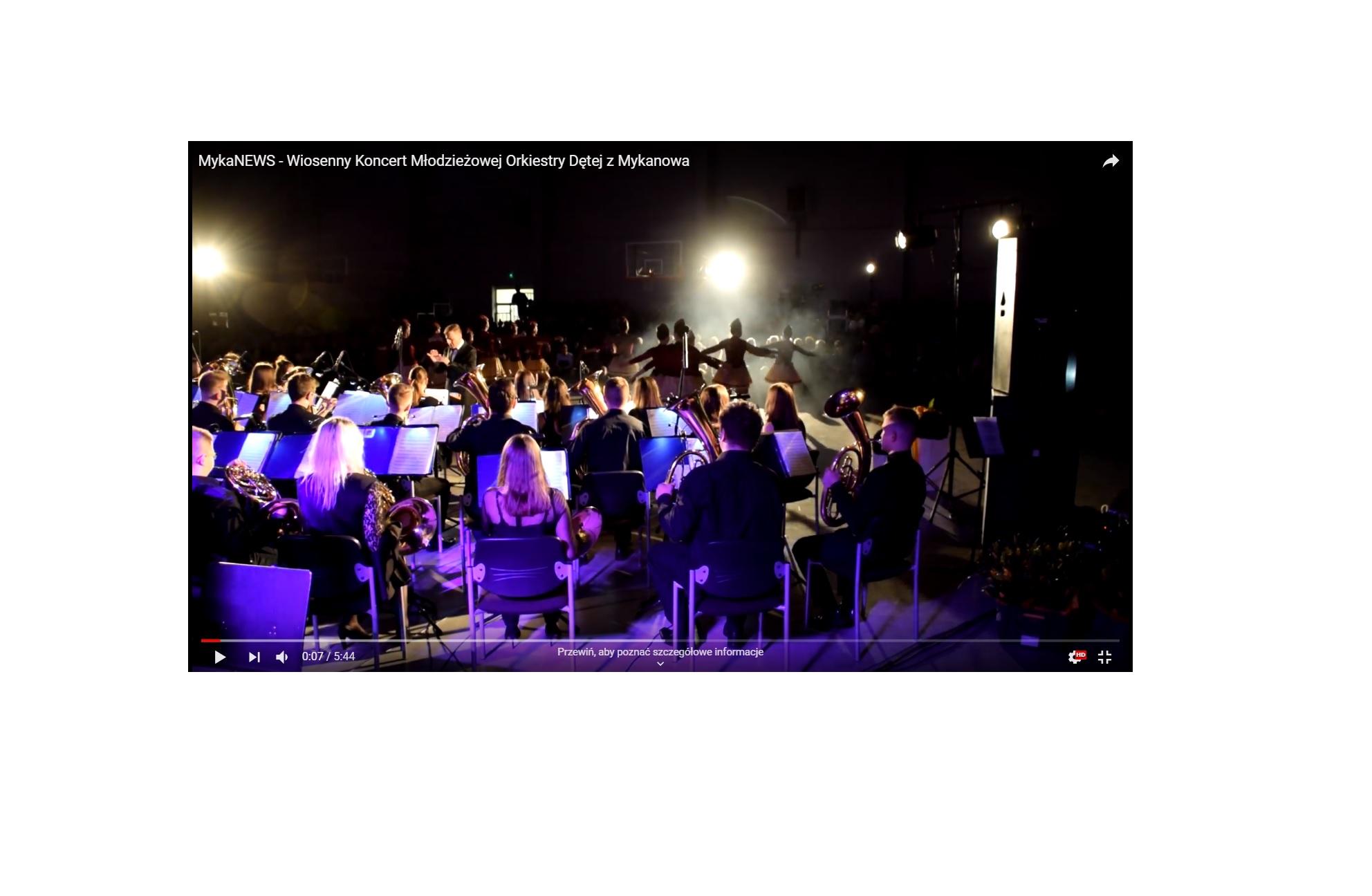 Reportaż MykaNews o Koncercie Wiosennym