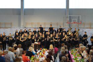 Orkiestra wystąpiła na zjeździe KGW w Mykanowie