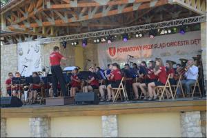 IV Powiatowy Przegląd Orkiestr Dętych w Dąbrowie Zielonej