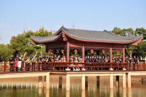 Młodzieżowa Orkiestra Dęta OSP Mykanów na prestiżowym festiwalu w Chinach