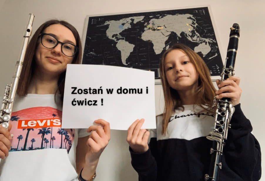 Przyłączamy się do akcji #zostańwdomuićwicz